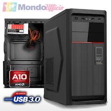 PC Computer AMD A10-7870K - Ram 8 GB - SSD 240 GB - HD 1 TB - Windows 10 Pro
