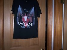 Maroon 5 concert shirt 2015 Black adult large Magici Rozzi Crane
