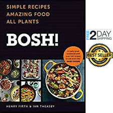 Bosh ! The Cookbook by Henry Firth Hardcover 2018