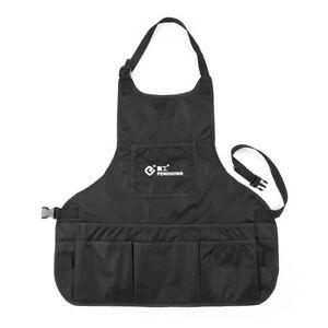 PENGGONG Waterproof Canvas Gardening Tool Apron Tools Bag with Pockets D6E8