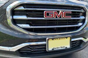 FlexyFrame Rubber Front License Plate Bracket Frame Tag Holder Guard for GMC