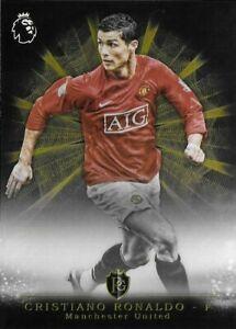 2016 TOPPS Premier Gold Cristiano Ronaldo Manchester Utd Brilliance Rare SP Card