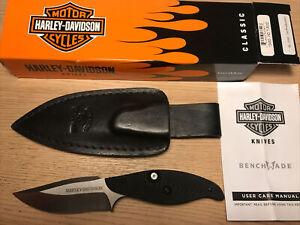 Benchmade Harley-Davidson T-Rod Knife 80of250 Rare New