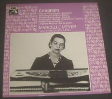 Marcelle Meyer : Chabrier - Piano Works  EMI 2C 151-73125 / 26 2 LP EX