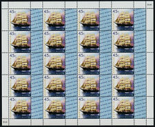 """Australia 1729 Sheet with """"Nest Wishes"""" logo MNH Ship Polly Woodside"""