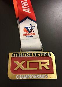 Men's U16 Athletics Victoria 3km Cross Country & Road Championships Medal 2016