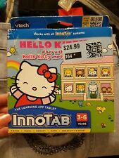 New v tech VTech InnoTab Learning Software a day Hello Kitty &friends inno Tab