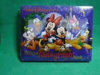 New Sealed Walt Disney World Parks Official Autograph Book souvenir