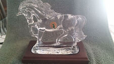 """Waterford Society Crystal Unicorn w/base - """"Legends & Lore"""""""