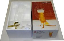 Iittala Harald Beer Horn Design Valto Kokko Mouth Blow Nuutajarvi Finland NEW