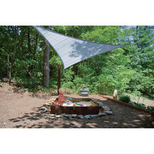 Sea Blue ShelterLogic 16' Triangle Shade Sail Camping Outdoor Pool Party Patio