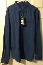 Under Armour Long Sleeve Shirt Style #1290754 Men's Size XL Blue/Green
