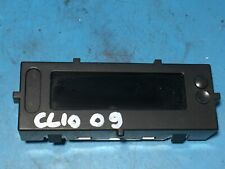 2009 Renault Clio 280348139R Radio Digital Display Clock