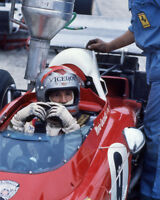 1972 Driver MARIO ANDRETTI Glossy 8x10 Photo Formula 1 U.S. Grand Prix Poster