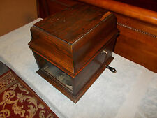 Original Vintage Edison Amberola 30 Cylinder Phonograph with 36 Cylinders