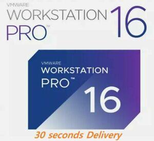 VMWare WorkStation Pro 16  | License Original | Delivery 15 Sec