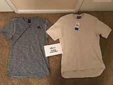 Lot of 2 Men's Adidas Originals Shirts Size Medium Oversized Pocket Tee