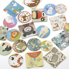 36pc Vintage Crafts Scrapbooking Girl Paper Stickers Diary Cake Decoration Ideas