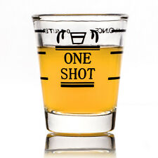 45ml New Mini Measuring Shot Glass Cup Ounce Jigger Bartender Coffee Bar Tool