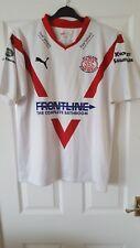 Mens Rugby League Shirt - St Helens - Puma - Home 2010-2011 - White - Size M