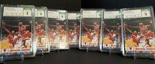 LOT 7 - 1993-94 NBA Hoops #28 Michael Jordan CSG 9 Mint Bulls HOF