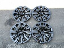 "Set of 4 New 2012 2013 2014 Toyota Camry 16"" Hubcaps Wheel Covers 61163 Black"