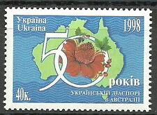 Ukraine - ukrainische Auswanderer in Australien postfrisch 1998 Mi.Nr. 291