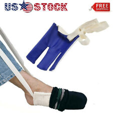 Sock Stocking Aid Puller Assit Disability old Aid Helper Terry Cloth Dress US
