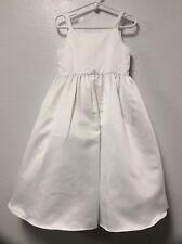 Girl Formal Dress Toddler Size 3 White Flower Girl Christening Davids Bridal 183
