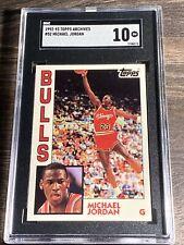 1992-93 Topps Archives MICHAEL JORDAN SGC 10 GEM MINT Chicago Bulls