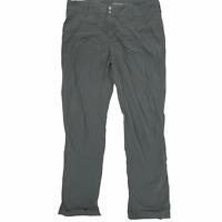 Columbia Womens Sportswear Omni Shield Advanced Repellency Gray Pants 10