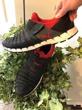 Puma OSU CROSS Training /Running Shoes Men's Size 13 Black & Red Velcro Close EX