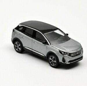Norev 3 inches . Peugeot 3008 ..2020  gris Artense .  Neuf en boite échelle 1/64