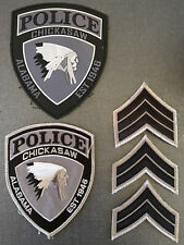 Chickasaw Alabama Police Collection PVC patch