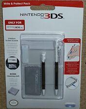NINTENDO 3 DS XL Accessorio Pack! Nuovo di zecca che si estende Stilo Kit di protezione schermo