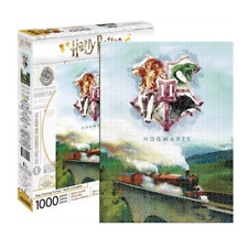 Harry Potter Hogwarts Express with Hogwarts Crest 1000 Piece Jigsaw Puzzle NEW