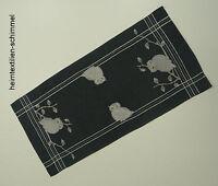 STICKEREI Decke WEIHNACHTEN Tischläufer EULE Tischdeckchen WINTER Deckchen 40x90