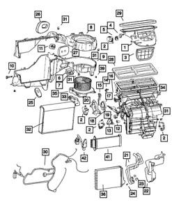 OEM NEW Mopar 07-10 Jeep Grand Cherokee SRT8 Distribution Housing 68020233AB