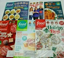 Food Network Lot of 6 Christmas Cookies Bobby Giada Ina Guy 2017-19 Recipes