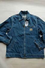 Herren Jacke Carhartt Detroit Jacket ( Blau Stein Gewaschen) Größe S