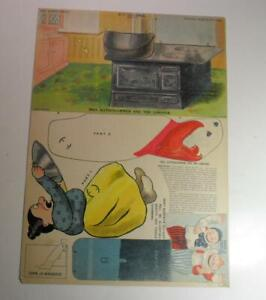 VINTAGE KATZENJAMMER KIDS NEW YORK NY JOURNAL PAPER DOLL 1902 UNCUT SCARCE!