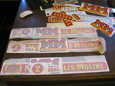 MM Tractor Decal Set R  Minneapolis Moline R    - R SET ONLY