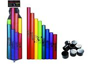 Boomwhackers C Major Diatonic Scale Set with Octavator Caps 8-Pack