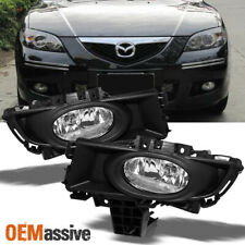 Fit 2007-2009 Mazda 3 Mazda3 Sedan Bumper Fog Lights w/Bulbs+Switch 07-09 L+R (Fits: Mazda)