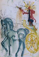 Salvador DALI : Le cheval de triomphe  - LITHOGRAPHIE numérotée et signée #500ex