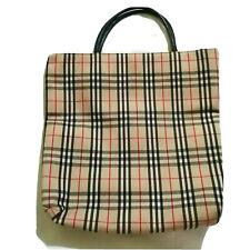 Burberry Nova Check Plaid Purse Tote Bag-- SALE
