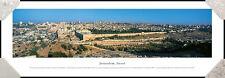 Jerusalem Israel City Skyline Old City Dome of the Rock Framed Poster Picture I