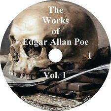 The Works of Edgar Allan Poe, Vol. 1 Raven Edition, 8 Audiobooks on 1 MP3 CD