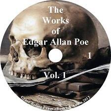 The Works of Edgar Allan Poe, Vol. 1 Raven Edition, 8 Audiobooks on 1 MP3 CD