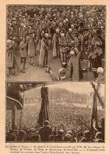 NANCY GENERAL DE CASTELNAU EVEQUES VERDUN METZ SAINT-DIE IILLUSTRATION 1926